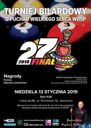 Turnije bilardowy WOŚP - 27